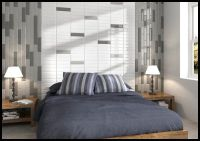 Subway Tile Trends: Bedroom Headboard & Feature Wall:Here ...