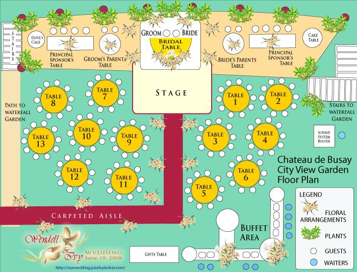 Table Garden Plans Layout 25+ Best Ideas About Wedding Table Layouts On Pinterest