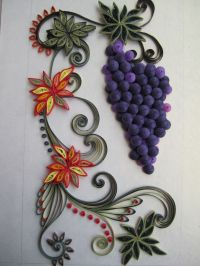 25+ best images about Quilling grapes on Pinterest ...