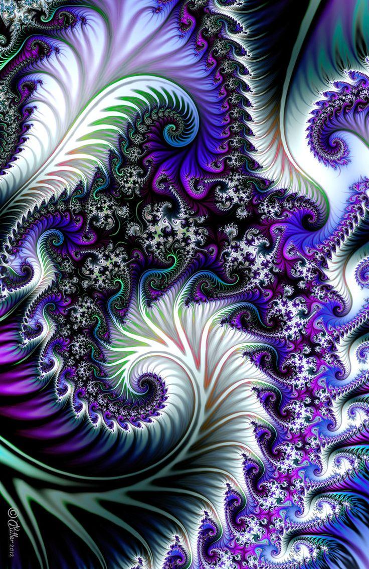 Optical Illusion Wallpaper Hd Sea Dragons De Shadoweddancer En Deviantart Fractals