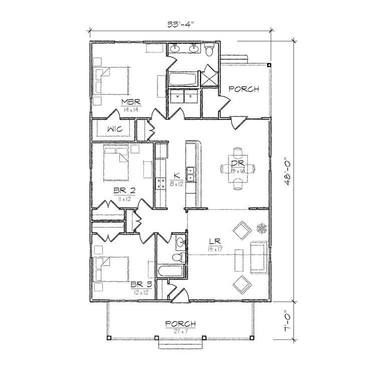 28+  Bungalow House Plan  Bungalow Floor Plans Bungalow Style - bungalow floor plans