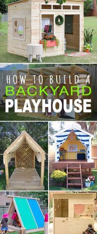 17 Best ideas about Backyard Playhouse on Pinterest | Kids ...