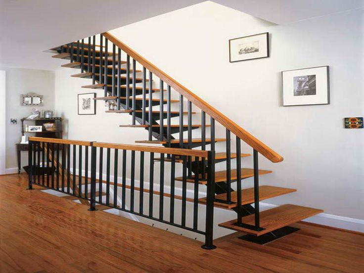 17 Best ideas about Indoor Stair Railing on Pinterest