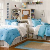 two twin beds with corner unit | Store-It Bed + Corner ...