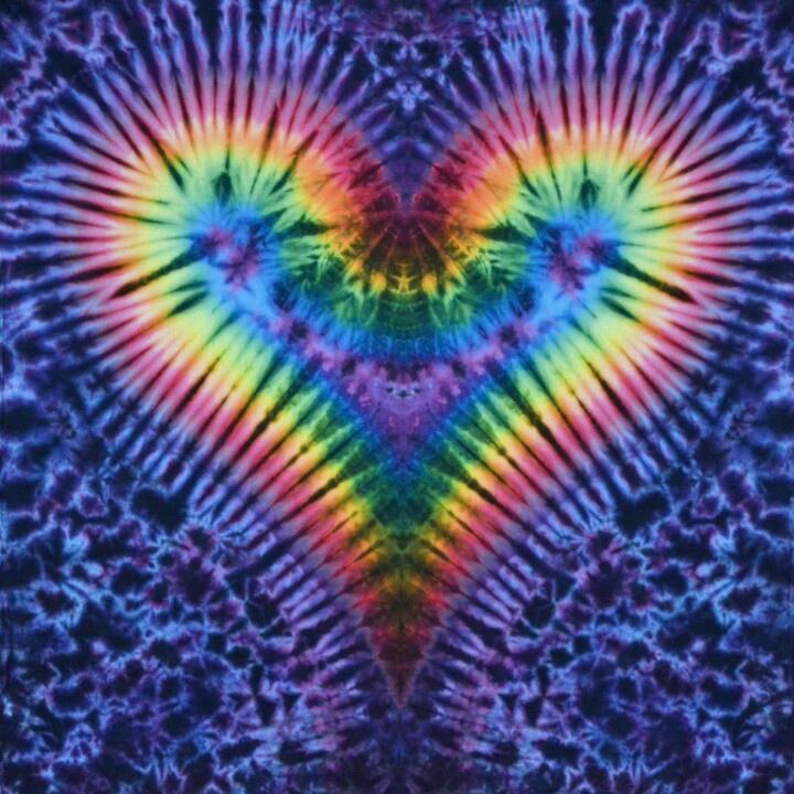 Lsd Wallpaper Iphone 6 Heart Tye Dye Upcycled Tees Amp Tops Pinterest Dyes