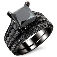 100+ ideas to try about wedding rings | Black gold, Black ...