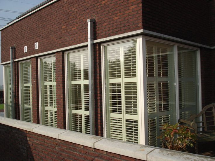 Shutters In Serre Shutters: A Collection Of Home Decor Ideas To Try | Wood