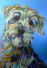 Best 25+ Dog art ideas on Pinterest