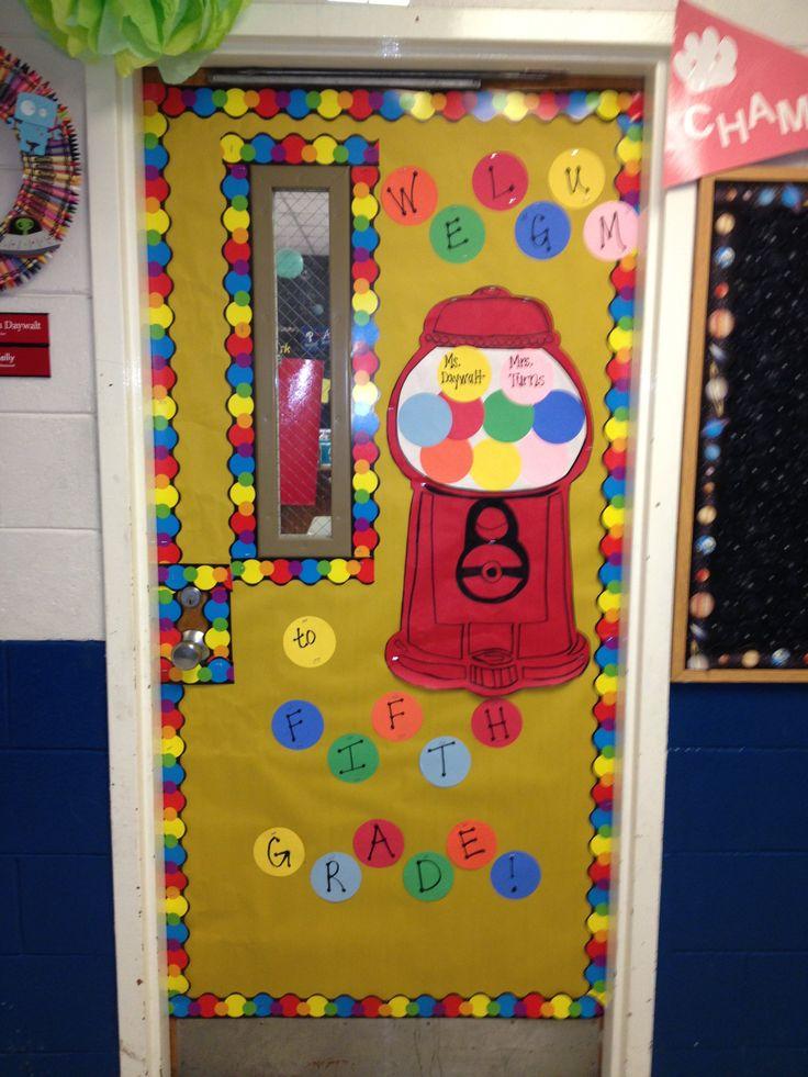 Preschool Back To School Door Ideas