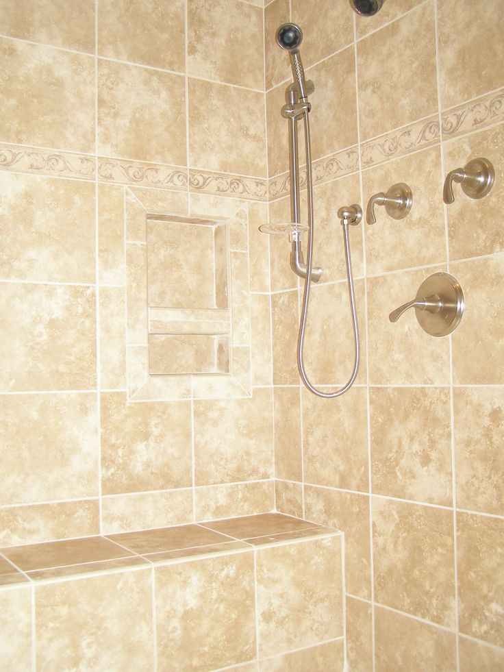Porcelain Or Ceramic Tile For Shower Ceramic Tile Showers Without Doors | Ceramic Tile Shower