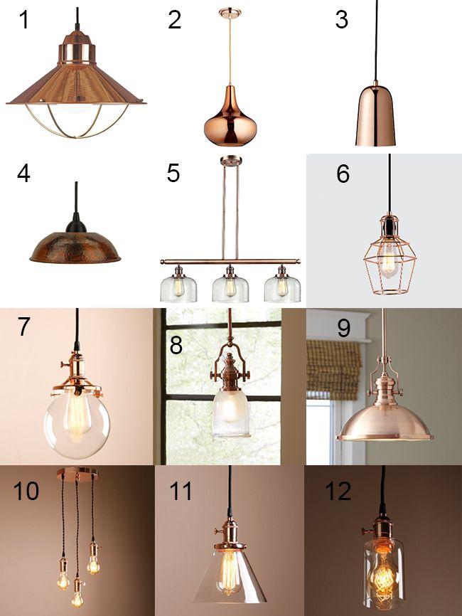 25+ best ideas about Copper lighting on Pinterest