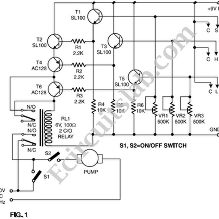 ac power switch circuit diagram nonstop electronic circuits