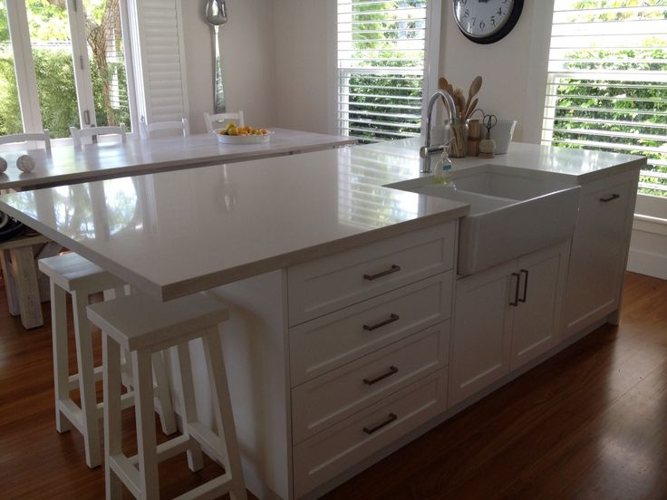 Kitchen Island Overhang For Stools Kitchen Island With Sink And Seating | Butler Sink Kitchen
