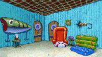 Spongebob Squarepants' living room. Inspiration for ...