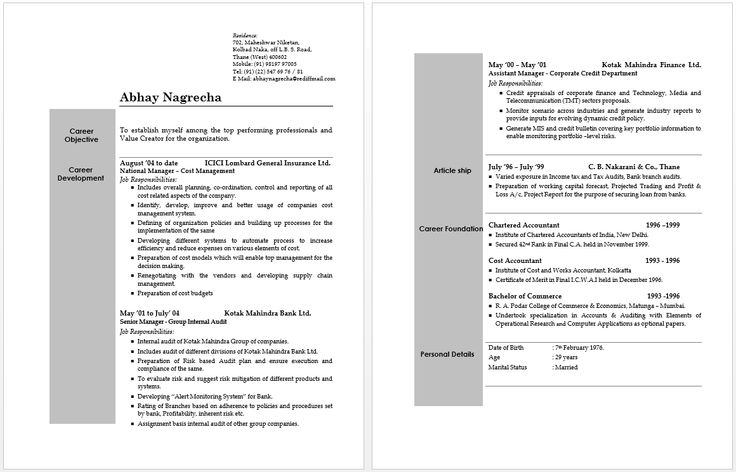 bioinformatics analyst sample resume