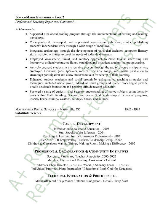 impressive sample teaching resume objective with spanish
