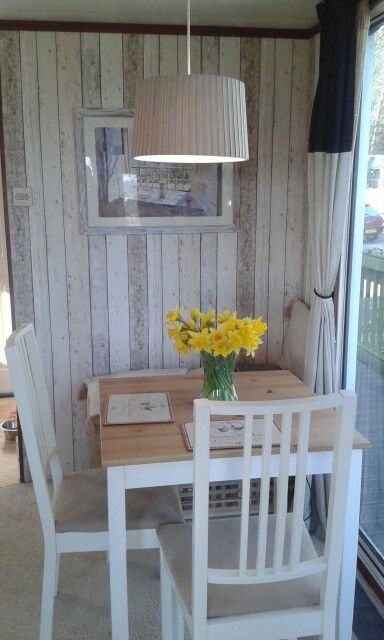 Laminat Selbstklebend Dining Room Makeover In Our Static Caravan | Glamping