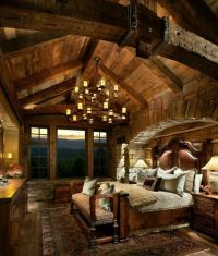 25+ Best Ideas about Log Cabin Bedrooms on Pinterest | Log ...