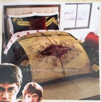 NEW HARRY POTTER DEATHLY HALLOWS MARAUDERS MAP Full/Queen ...