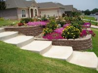 Steep Sloped Back Yard Landscaping Ideas | Sloped Front ...