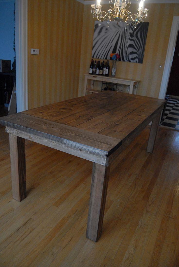 Definitely Building Ana White39s Farmhouse Table I Want A
