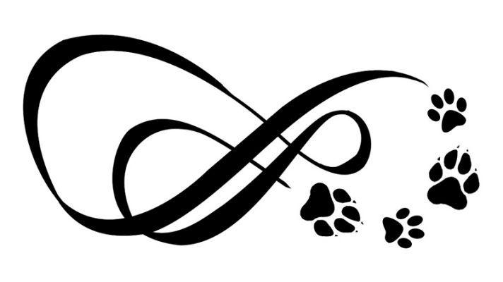 Best 25 Paw Print Tattoos Ideas On Pinterest