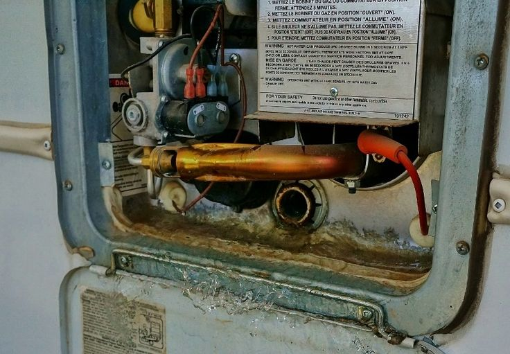 my yearly rv hot water heater maintenance