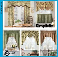 Free Printable Valance Sewing Patterns   SIMPLICITY WINDOW ...