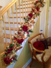 25+ Best Ideas about Christmas Stairs Decorations on ...