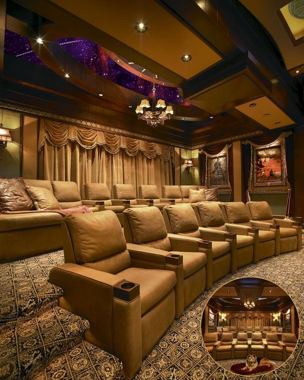 Sofas Confortaveis Home Theater Home_theater Designs, Furniture And Decorating Ideas Http