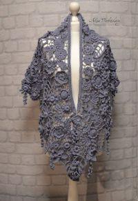 Shawl. Shroud. Stoles, scarf, shawl, Irish crochet ...