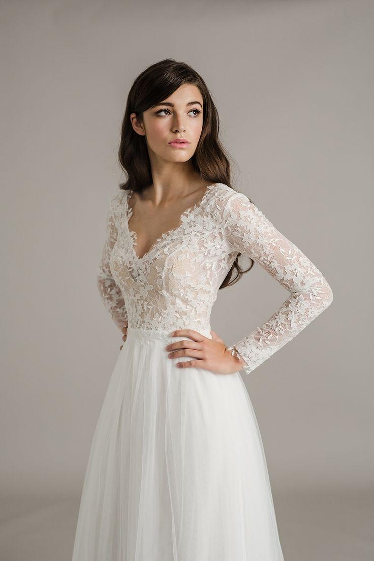 lace sleeve wedding dress wedding dress long sleeve The Stunning Sally Eagle Wedding Collection Wedding Dresses With