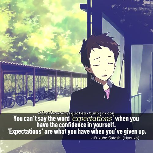 Make Your Own Quote Wallpaper Free Hyouka Quotes Google Search Reality Escape Pinterest