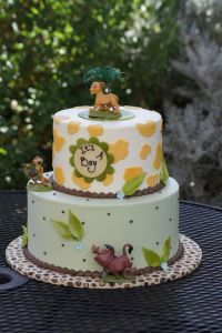 Lion King themed baby shower cake | Baby Shower Cakes ...