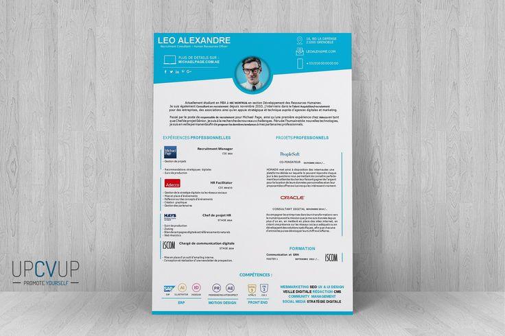 modele cv de consultant recrutement