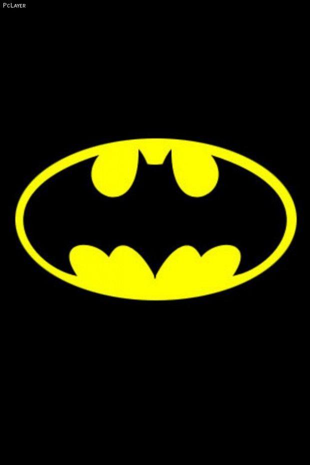 Christian Bale Iphone Wallpaper Image Detail For Batman Logo Yellow Black Iphone