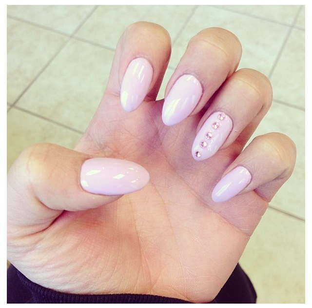Short Stiletto Nails Nail Art Pinterest Sexy Almond