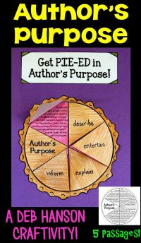 17 Best ideas about Authors Purpose Activities on ...