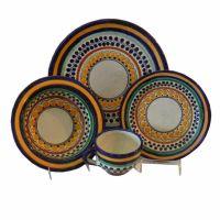 Ondo Talavera 4-Piece Dinnerware Set | The o'jays ...
