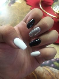 17 Best ideas about White And Silver Nails on Pinterest ...