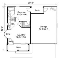 Plan 57167HA: Ideal Cottage For Leisure Living | House ...