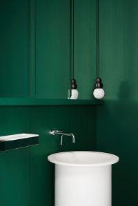 25+ best ideas about Dark green bathrooms on Pinterest ...