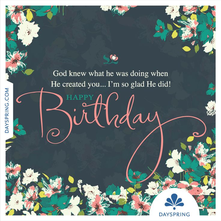 Birthday Greetings Dayspring Happy Birthday! - Http://www.dayspring.com/ecardstudio