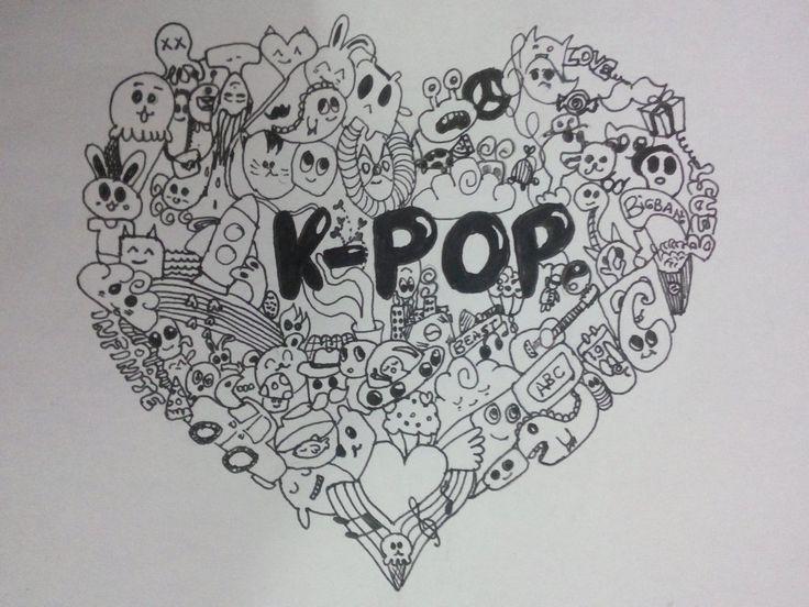 Cute Bts Drawings Wallpaper Kpop Chibi And Bts On Pinterest