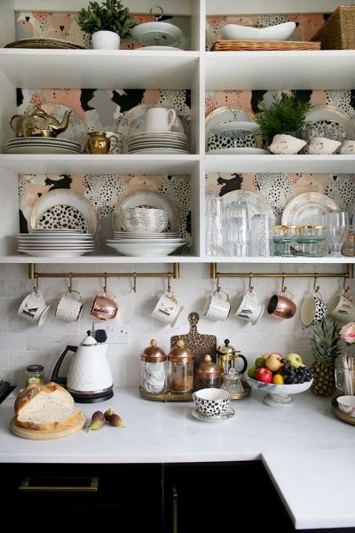 17 Best ideas about Wallpaper Shelves on Pinterest | Wallpaper drawers, Drawer shelves diy and ...