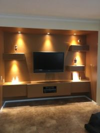 1000+ images about Custom Media Wall Designs by TWD on ...