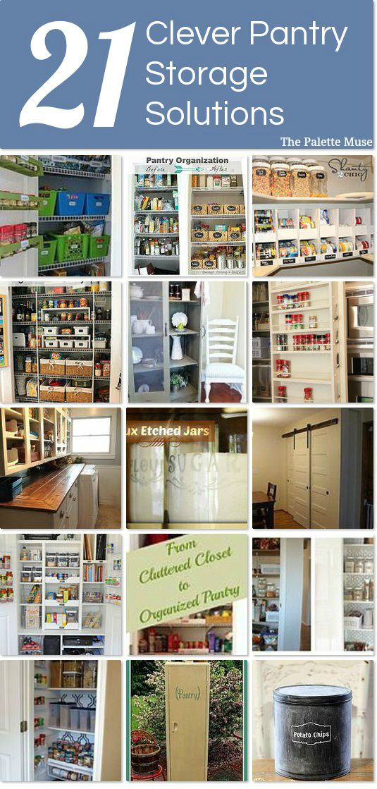 21 Clever Pantry Storage Solutions Idea Box By Meredith