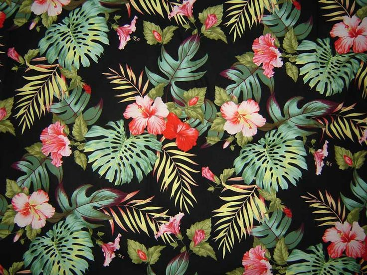 1000+ Ideas About Hawaiian Print On Pinterest | Tropical Pattern