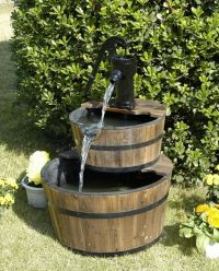 Best 60 Fountain ideas for small gardens images on ...