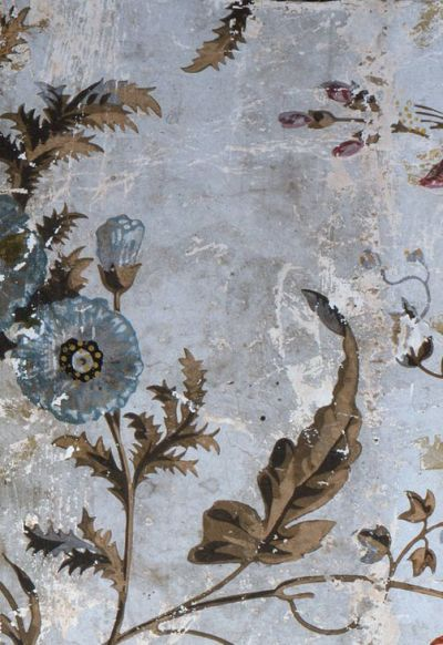 25+ best ideas about Antique Wallpaper on Pinterest | Chinese wallpaper, Powder rooms with ...